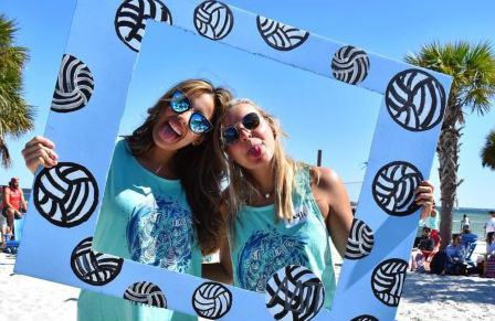 Zeta Epsilon Serves Up at Their Lion's Share Beach Volleyball Challenge